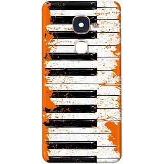 Digimate Hard Matte Printed Designer Cover Case Fo LeEco Le Max - 0011