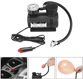 Electric Air Compressor Inflator Pump for car, Bike, tubeless tire. Air Pump for Bicycle, Football(Assorted)