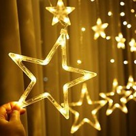 90 inch Star White Rice Lights LED (Pack of 1)