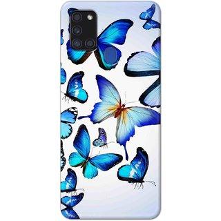 Digimate Hard Matte Printed Designer Cover Case Fo Samsung Galaxy A21s - 0539