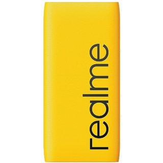 Realme 10000 mAh Power Bank  Quick Charge 2.0, Quick Charge 3.0   Black, Lithium Polymer  Power Bank