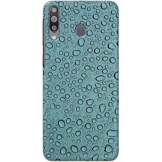 Digimate Hard Matte Printed Designer Cover Case Fo Samsung Galaxy A40s - 3117