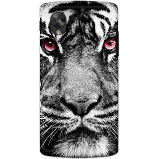 Digimate Hard Matte Printed Designer Cover Case For LG Nexus 5