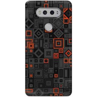 Digimate Hard Matte Printed Designer Cover Case For LG V20