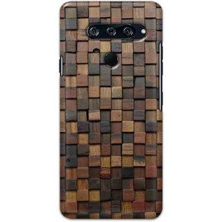 Digimate Hard Matte Printed Designer Cover Case For LG V40 ThinQ