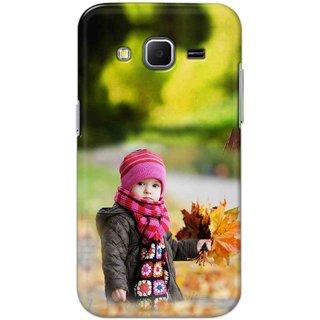 Digimate Hard Matte Printed Designer Cover Case Fo Samsung Galaxy Core Prime - 0242