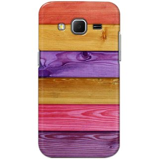 Digimate Hard Matte Printed Designer Cover Case Fo Samsung Galaxy Core Prime - 3061