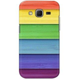 Digimate Hard Matte Printed Designer Cover Case Fo Samsung Galaxy Core Prime - 3106