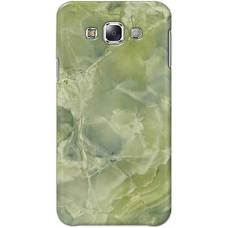Digimate Hard Matte Printed Designer Cover Case Fo Samsung Galaxy E7 - 3090