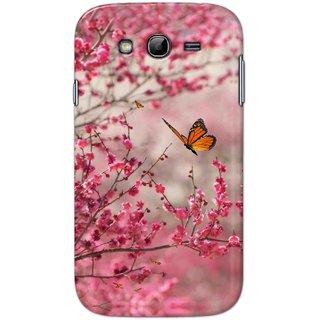 Digimate Hard Matte Printed Designer Cover Case Fo Samsung Galaxy Grand (9082) - 0399