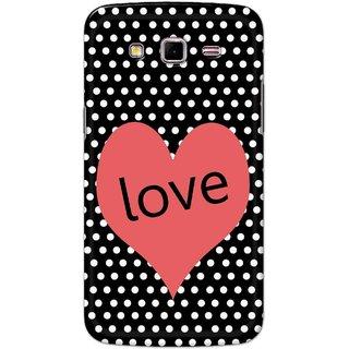 Digimate Hard Matte Printed Designer Cover Case Fo Samsung Galaxy Grand 2 (7106) - 0332