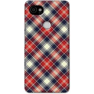 Digimate Hard Matte Printed Designer Cover Case Fo Google Pixel 2 Xl - 3040