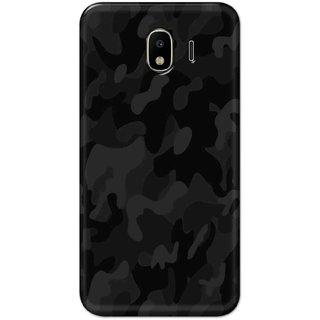 Digimate Hard Matte Printed Designer Cover Case Fo Samsung Galaxy J4 - 3051