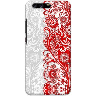Digimate Hard Matte Printed Designer Cover Case Fo Huawei P10 - 0661