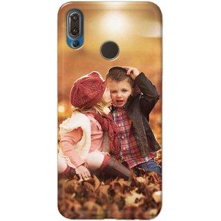 Digimate Hard Matte Printed Designer Cover Case For Huawei P20 Plus