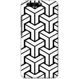Digimate Hard Matte Printed Designer Cover Case Fo Huawei P10 - 3098