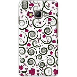 Digimate Hard Matte Printed Designer Cover Case Fo Samsung Z2 - 0694