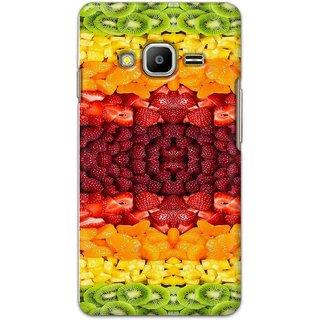 Digimate Hard Matte Printed Designer Cover Case Fo Samsung Z2 - 3030