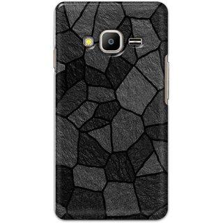 Digimate Hard Matte Printed Designer Cover Case Fo Samsung Z2 - 3050