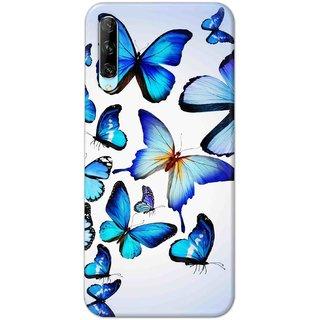 Digimate Hard Matte Printed Designer Cover Case For Huawei Y9s