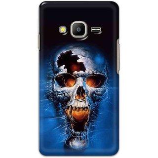 Digimate Hard Matte Printed Designer Cover Case Fo Samsung Z2 - 0963