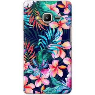 Digimate Hard Matte Printed Designer Cover Case Fo Samsung Z2 - 3056