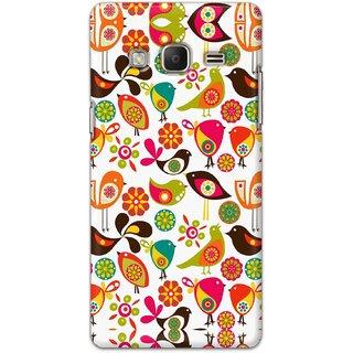 Digimate Hard Matte Printed Designer Cover Case Fo Samsung Z3 - 0612