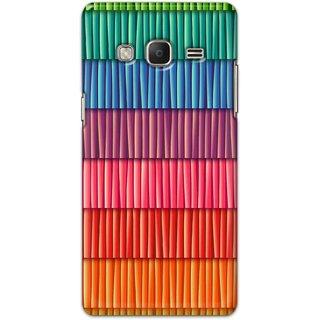 Digimate Hard Matte Printed Designer Cover Case Fo Samsung Z3 - 3032