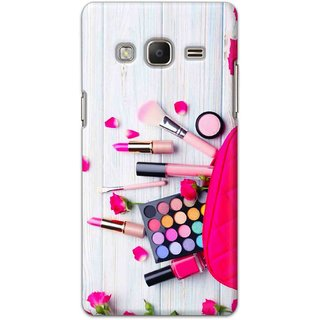 Digimate Hard Matte Printed Designer Cover Case Fo Samsung Z3 - 3034