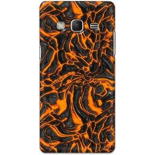 Digimate Hard Matte Printed Designer Cover Case Fo Samsung Z3 - 3049