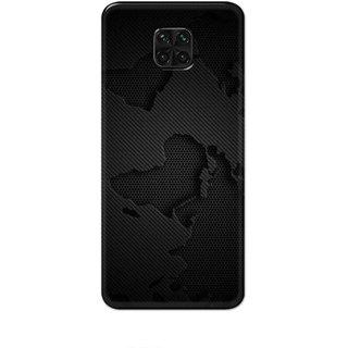 Digimate Hard Matte Printed Designer Cover Case For Poco M2 Pro