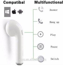 HBQ i7 Single EAR Bluetooth Earphone