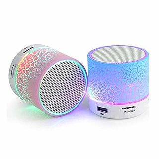 Trendster 2.1 Channels Bluetooth Speaker USB, FM and Aux Connectivity With Memory Card Slot - Multicolor - set of 1