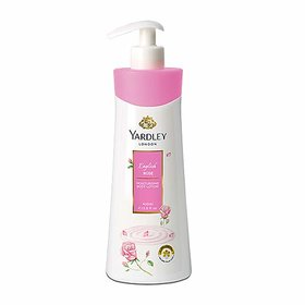 Yardley London English Rose Moisturizing Body Lotion 400 ml Pack Of 1 Ideal For Men And Women