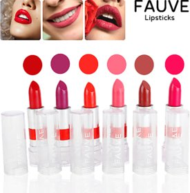 Fauve Moisturizing Lipstick - Pocket Friendly-(Pack of 6)