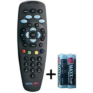 Tata Sky D2H REMOTE CONTROL WITH BATTERY