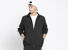 Adidas Black Polyester Jacket