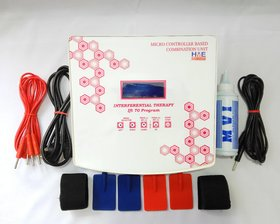 HME LCD Interferential Therapy 70 Program Electrotherapy Machine ( Fiber Body )