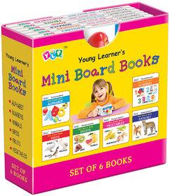 Mini Board Books (Set of 6 Books)
