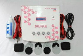 HME Fiber Body T.E.N.S 4 Channel LCD Electrotherapy Machine