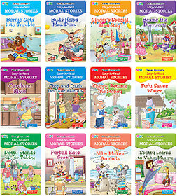 Easy to Read Moral Stories (Set of 12 Titles)