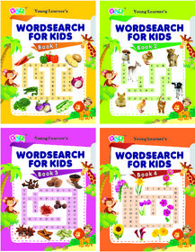 Word Search For Kids (Set of 4 Titles)