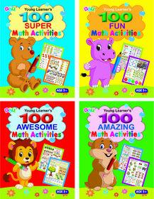 Maths Activity Books (Set of 4 Titles)