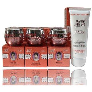 Jiaobi Whitening And Moisturising Set Best Herbal Whitening Cream