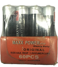 maxx Power AAA Performance Alkaline Non-Rechargeable Batteries (60-Pack) - Appearance May Vary