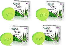 Neem Austro Neem  Aloe Vera Soap Pack-4