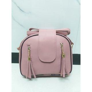 Three Zipper Pockets Six Color Sling Bags