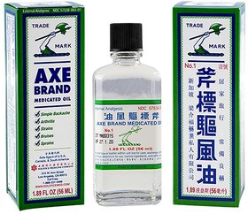 AXE Brand Universal Oil For Quick Relief of Cold  Headache 56ml