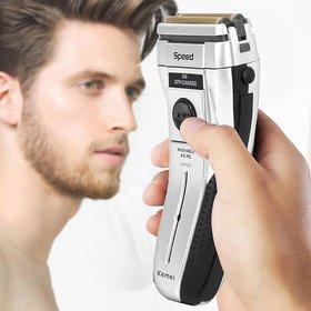KM-1730 KEMEI KM1730 Electric Menas Shaver Body Washable Wet/Dry Shaver