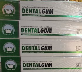 Dentailgum Toothpaste Pack-4